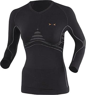 X-Bionic Erwachsene Funktionsbekleidung Lady EN Accumulator UW Shirt LG SL