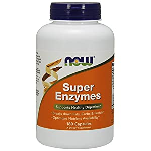 Now Foods | Super-Enzyme | 180 Kapseln | glutenfrei