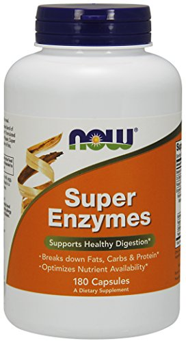 Now Foods, Super Enzymes, 180 Kapseln