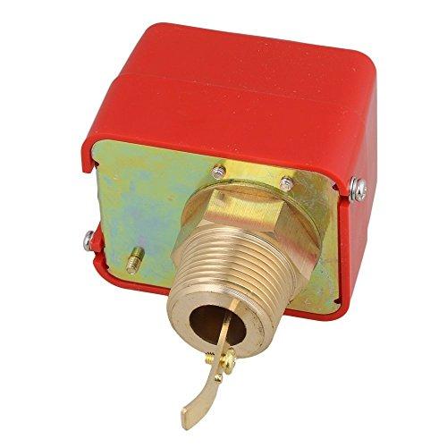 Woljay Wasserdurchflussschalter 1 Zoll SPDT HFS-25 Kühlsystem Wasser Paddel Durchflussregler AC 250V 16A -
