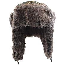ALIKEEY Winter Hat Sombrero De Esquí Ruso De Felpa Orejeras Tapa Plana  Acolchada Personalizadas Snapback Flexfit 30cb6d70c9f