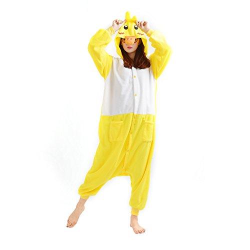 Imagen de darkcom  disfraz de animal unisex para adulto sirve como pijama o cosplay sleepsuit de una pieza pato