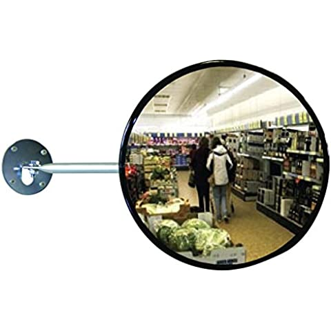 Specchio di sorveglianza universale per uso interno, tondo Ø 80 cm