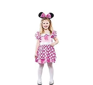 Fyasa 706221-t02ratón disfraz de niña, rosa, medium