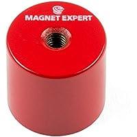 Imán expertos aldp2725m6–45de profundidad olla imán con orificio roscado M6(Pack de 4)
