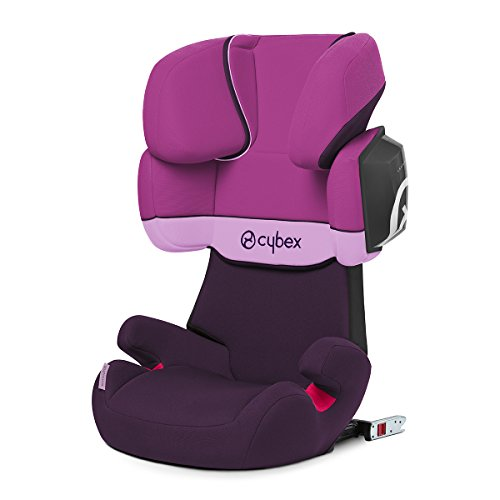Cybex Silver Solution X2-fix, Autositz Gruppe 2/3 (15-36 kg), mit Isofix, Kollektion 2019, Purple Rain
