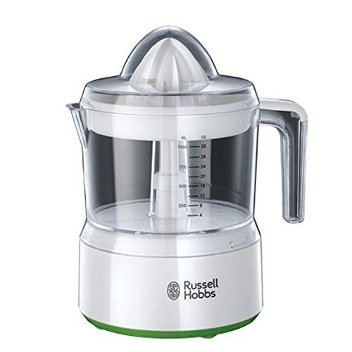 Russell Hobbs 23850-56 - Exprimidor Explore, capacidad de 1 l, color blanco y verde