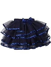 0ac4ecbd439c2 storeofbaby Petites Grandes Filles Tulle Tutu Jupe 4 Couches Jupe de fête  habillée ...