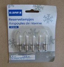 ersatzbirnen lichterbogen 5 Stück Ersatzbirnen für Lichterbogen, Lichterkette, Ersatz Birnen, Leuchtmittel (LHS)