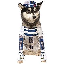 Star Wars - Disfraz R2-D2 para mascota, L (Rubie's Spain 888249-L)