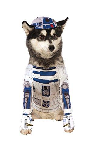 Rubies - Disfraz oficial de Star Wars de R2-D2 para perro.