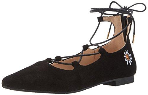 Andrea Conti Damen 3123400 Geschlossene Ballerinas Schwarz (Schwarz)