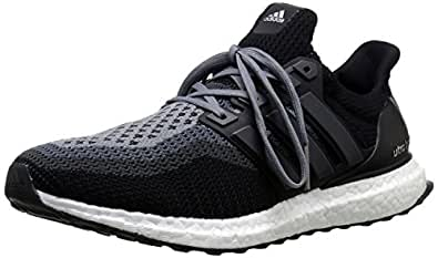adidas Performance Men's Ultra Boost M Running Shoe Black/Black/Solid Grey 8 D(M) US