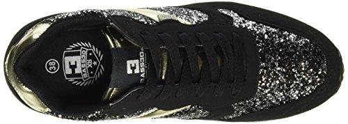 XTI - 41228, Scarpe da ginnastica Donna Nero (Nero (Negro))