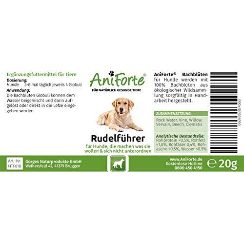 AniForte Bio-Bachblüten Rudelführer 20 g – Naturprodukt für Hunde - 3