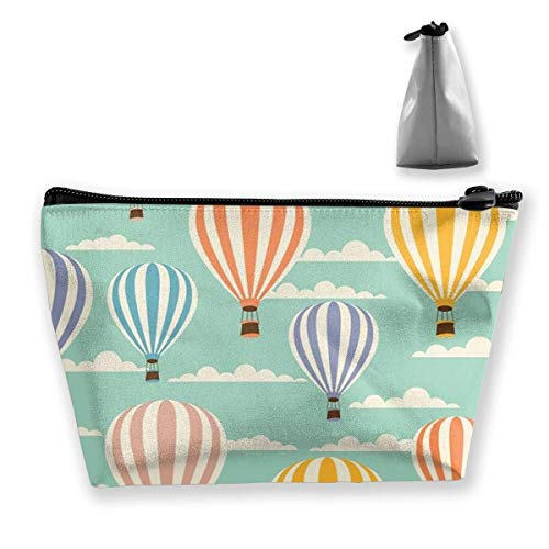 Travel Cosmetic Bags Balloon Custom Small Makeup Bag Multifunction Pouch Cosmetic Handbag Toiletries Organizer Bag for Women Girl Lsu Laser