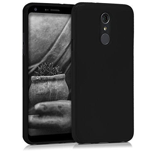 kwmobile LG Q7 / Q7+ / Q7a (Alpha) Hülle - Handyhülle für LG Q7 / Q7+ / Q7a (Alpha) - Handy Case in Schwarz matt
