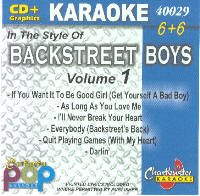 Karaoke Backstreet Boys 1 (Karaoke-cds Boys Backstreet)