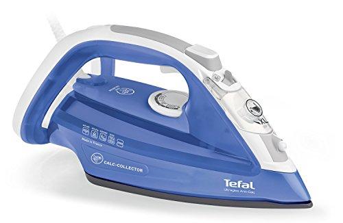 Tefal FV4944 Ultragliss anticalcare - Ferro a vapore - Raccoglitore di calcare - Piastra con tecnologia Durilium® - 2500W - Getto di vapore di 150 g