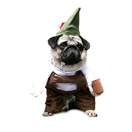 (Glamour Girlz super süße Hunde Katzen Verkleidung Halloween Lustiges Kostüm Oktoberfest Deutsche Lederhose Outfit)