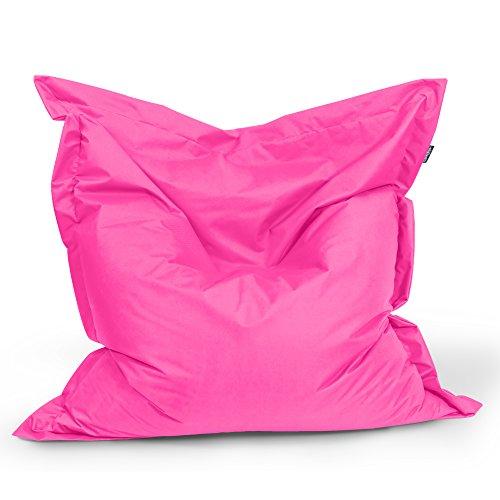 BuBiBag Sitzsack Rechteck Größe 180x145 cm (pink)
