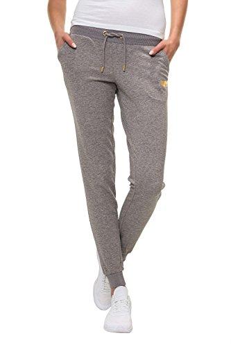 Only Play Damen Trainingshose Sporthose Sweat Pants (L, Medium Grey Melange)