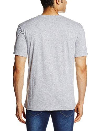 Quiksilver Herren Kurzarm-T-Shirt Classic Tee A58 M Tee Athletic Heather