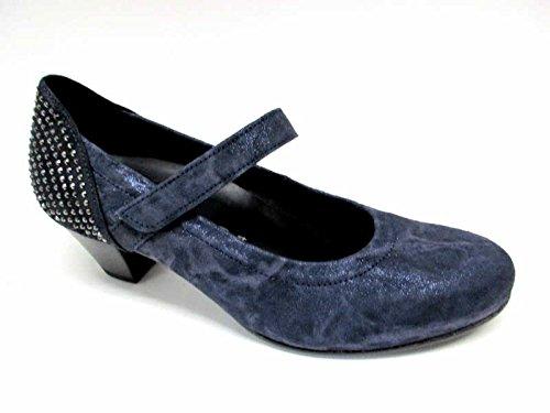 Gabor  66.149.36, Escarpins pour femme Bleu