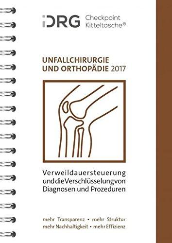 iDRG Checkpoint Kitteltasche Unfallchirurgie und Orthopädie