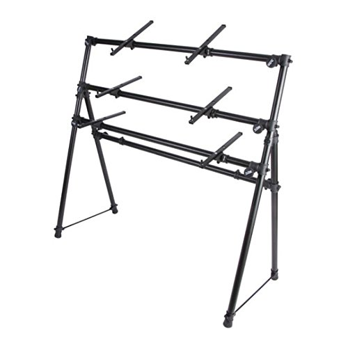 Price comparison product image On-Stage 3-Tier A-Frame Keyboard Stand