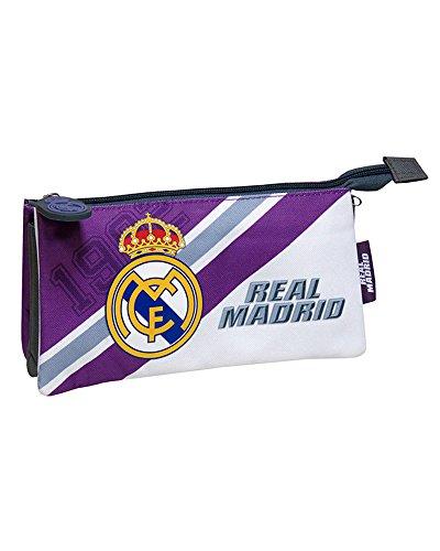 REAL MADRID CF® Portatodo Triple Bordado