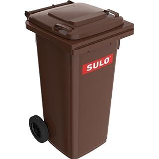 Sulo Müllgrossbehälter Fahrbar 120 L Braun