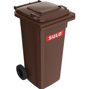 Sulo einfarbige Mülltonne 120 L in div. Farben