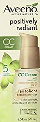 Aveeno Positively Radiant CC Cream Broad Spectrum Spf 30 Fair To Light Tinted