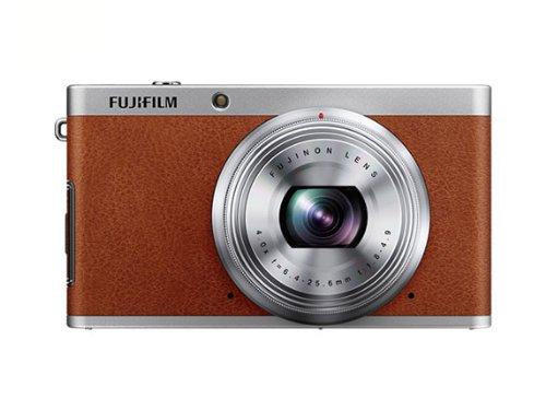 Fujifilm X-F1 Digitalkamera (12 Megapixel, 7,6 cm (3 Zoll) Display, Full HD) braun (Fujifilm Kompaktkamera)