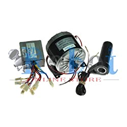 24V Motor My1016 350W With Motor Controller And Twist Throttle, Diy Electric Bicycle Kit