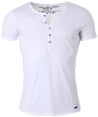 Key Largo Herren T-Shirt Lemonade Weiss (10) M