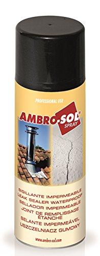 Ambro-Sol M203T Sellante Impermeable, Transparente, 500 ML