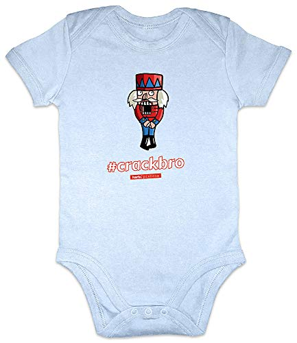 HARIZ Baby Body Kurzarm Pixbros Crackbro Xmas Weihnachten -