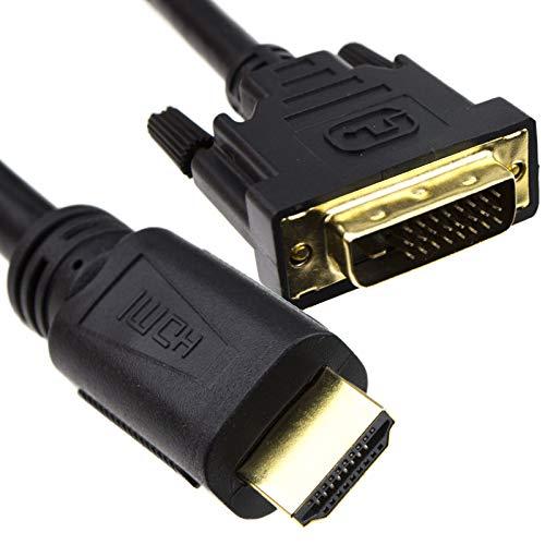 DVI D 24+1 Männlich Zum HDMI Digital Video Kabel Anschlusskabel Vergoldeten 15 m -