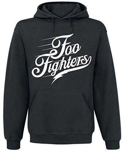 Foo Fighters Logo Kapuzenpullover schwarz S