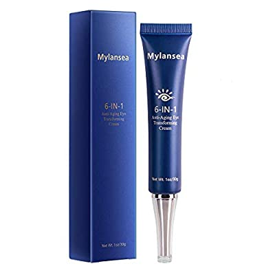 Mylansea Anti-Aging Eye Cream for Dark Circles, Moisturizing Eye Gel for Total Eye Lifting and Firming, 30ml