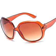 Mujeres Caja Grande Gafas De Sol Señoras Moda Gafas Chica Salvaje Gafas De Sol,H