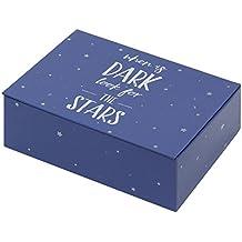 Creibo CBOX002 - Caja Cartón decorada Estrellas