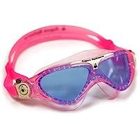 Aqua Sphere Vista Jr Gafas de Natación, Niñas, Rosa/Blanco, Talla Única