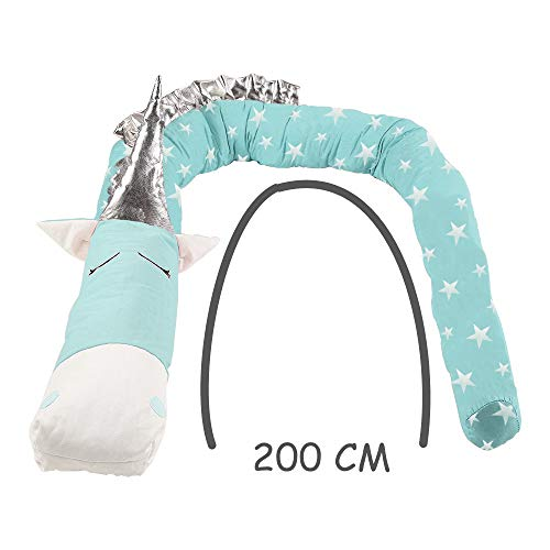 i-baby Nestchen 3D Cartoon Animal Head Guard Bumper Kinderzimmer Betten Bumper Innen Schutz für Kinderbett - 2