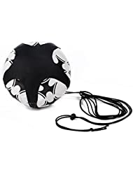 hubanbei Mappe Fußballnationalmannschaft Assistent Trainings Fußball Solo Gürtel verstellbar die Unterstützung von Kontrolle der Fähigkeiten