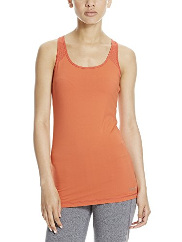 Bench, Mesh Panel Tank Top, Donna, Mesh Panel Tank, Dusty Red, S