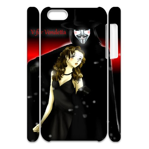 LP-LG Phone Case Of V for Vendetta For Iphone 4/4s [Pattern-6] Pattern-3