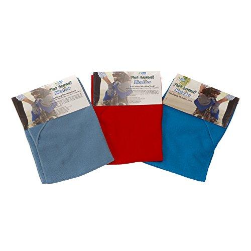 Mikrofaser Handtuch Trockentuch Mikrofasertuch für Hunde und Katzen 40 x 60 cm Farbe nach Verfügbarkeit